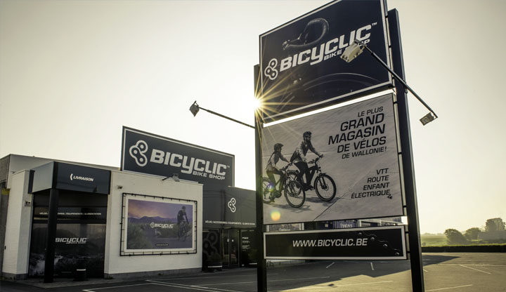 magasin bicyclic hognoul